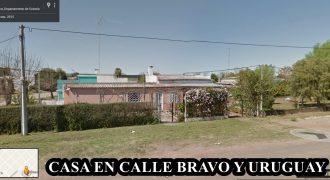 CASA EN CALLE BRAVO Y URUGUAY